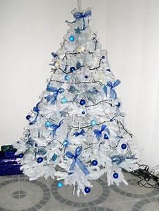 deco noel bleu et blanc decoration sapin noel bleu et blanc