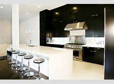 Black and White Kitchen   Contemporary   kitchen   Marie