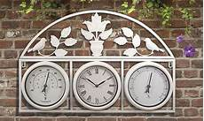 garden clock and weather station waltons sheds