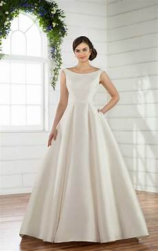 Traditional Wedding Gown modest traditional wedding dress essense of australia