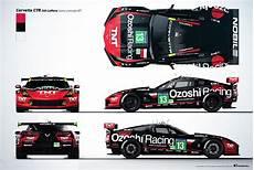 corvette c7r livery presentation on behance race car
