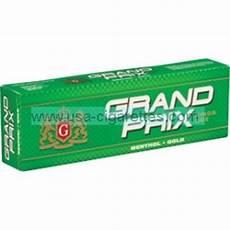 Cigarette Menthol Prix Grand Prix Menthol Gold Cigarettes Cheap