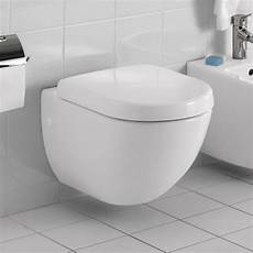Villeroy And Boch Wc - villeroy and boch soho wall hung wc uk bathrooms