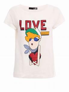 moschino doll print t shirt t shirts