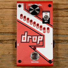 drop tune pedals digitech drop polyphonic drop tune pitch shifter mint reverb
