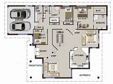 3 bedroom modern house plans 3 bed single storey house plan no 208 4 bed sunken