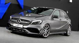 Mercedes AMG A45 Visits Posaidon Comes Back With 550PS