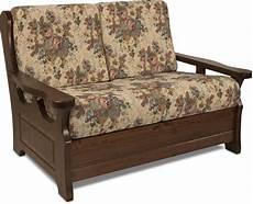 struttura divano letto divano rustico 2 posti con struttura in legno massello di