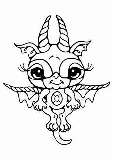 ausmalbilder baby drache 1 drachen malvorlagen