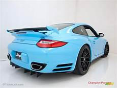 2010 light blue paint to sle porsche 911 turbo coupe 28659195 photo 6 gtcarlot com car
