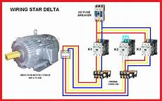 three phase motor connection electrical page star delta y δ motor connection diagram