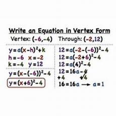 lesson 3 15 writing quadratic equations in vertex form tutorial sophia learning