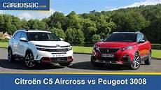 Comparatif Citro 235 N C5 Aircross Vs Peugeot 3008 224 Qui