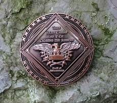 cache corner alea iacta est geocoin antik kupfer le 75