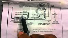 how to install msd 6al ignition box hei youtube