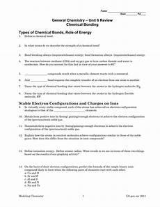 worksheet types of chemical bonds worksheet answers worksheet fun worksheet study site