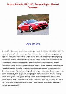 automotive repair manual 1998 honda prelude electronic valve timing honda prelude 1997 2001 service repair manual by magdalen groholski issuu