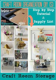 craft storage wall organizer see how to make this