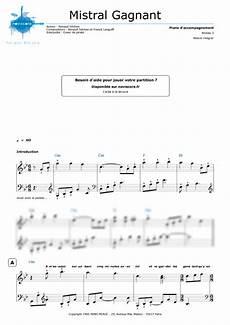 piano sheet music mistral gagnant coeur de pirate noviscore sheets