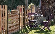 construire une cloture en bois de palette 20 exemples