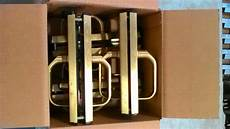 clearance sale vingcard satin brass classic guest room lock bodies handles ebay