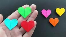 origami herz basteln mit papier diy bastelideen f 252 r