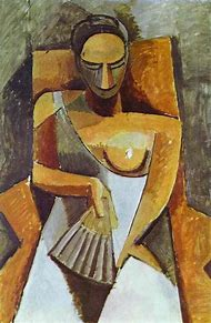 Picasso Woman with Fan