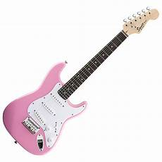 squier mini by fender squier by fender mini stratocaster 3 4 size electric guitar pink at gear4music