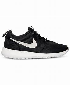 lyst nike s roshe run casual sneakers from finish
