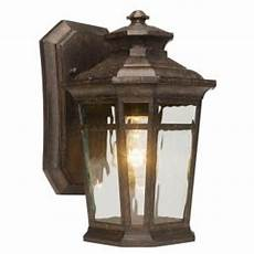 home decorators collection waterton 1 light dark ridge bronze outdoor wall lantern 23122 the