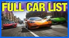 Forza Horizon 4 Car List No Mitsubishi Toyota