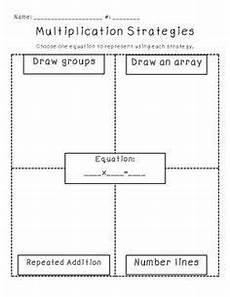 multiplication strategy worksheets grade 3 4815 free multiplication division strategy chart thirdgradetroop multiplication