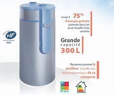 chauffe eau thermodynamique 300l chauffe eau thermodynamique quot cylia air 300l quot auer