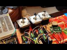 changzhou longs dm860a stepper motor driver test using mach3 control software youtube