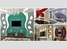 16 Sensational Gypsum Wall Decoration That You Will