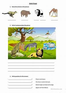 animals there is there are english esl worksheets