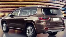 2019 jeep grand commander is the new three row crossover
