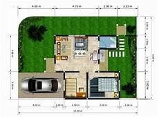 45 Denah Rumah Sederhana Bagus Nyaman Trendi