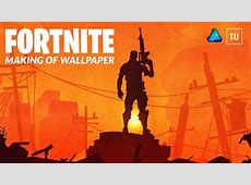 MAKING OF A FORTNITE WALLPAPER   FREE DOWNLOAD   affinity