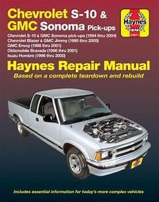 car manuals free online 1994 oldsmobile bravada seat position control chevy s10 sonoma blazer jimmy bravada repair manual 1994 2005