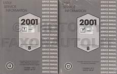 car repair manual download 2001 pontiac aztek user handbook 2001 pontiac aztek preliminary repair shop manual original 2 volume set