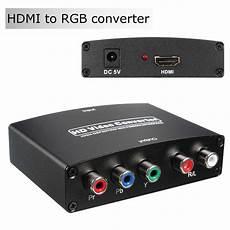1080p Ypbpr Hdmi Audio Converter by 1080p Hdmi To Rgb Component 5 Rca Ypbpr R L Audio