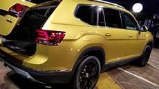 7 Seat 2018 Vw V6 Atlas Suv Revealed