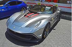 Unique Chrome Silver F12 Trs Spotted In Rome