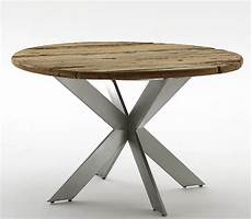 destiny second wood tisch rund 120cm cancun edelstahl