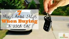 how to know if a used car is a good deal yourmechanic advice 7 must know steps when buying a used car money peach
