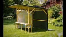 gartenhaus selbst bauen marktstand verkaufsstand infostand mobil gartenhaus