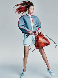 gigi hadid and aldridge in the best sporty looks for spring vogue