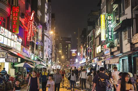 Walking Street Saigon