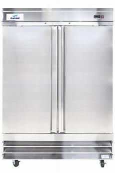 Refrigerateur 2 Portes Sans Congelateur R 233 Frig 233 Rateur Commercial Inox 2 Portes Battantes 54 De Danair